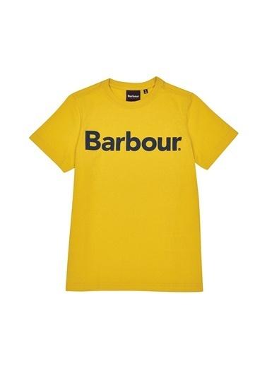 Barbour Erkek Çocuk Logo T-Shirt Ye31 Yolk Sarı